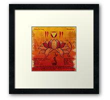 Mooladhara Chakra Framed Print