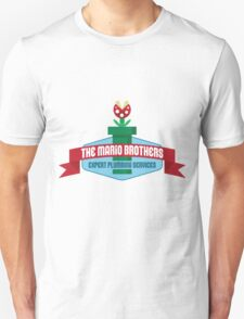 Mario Brothers - Plumbing Experts! Unisex T-Shirt