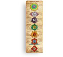 Elements of Chakras Metal Print