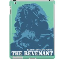 blood lost life found the revenant movie iPad Case/Skin