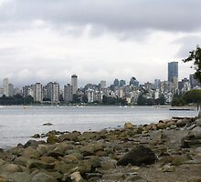 Vancouver City Skyline by kristijacobsen