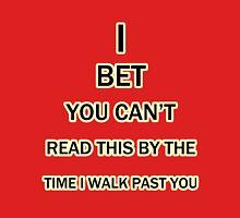 Read Fast Unisex T-Shirt