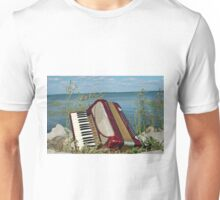 Red Accordion Unisex T-Shirt