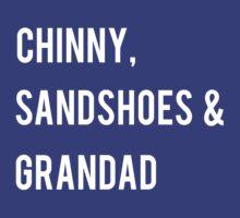 Chinny, Sandshoes & Grandad by Elise Jimenez