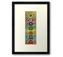 The Seven Chakras Framed Print
