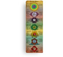 The Seven Chakras Canvas Print