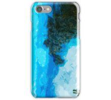Kauai Na Pali Coast From Koke'e Abstract Impressionist iPhone Case/Skin