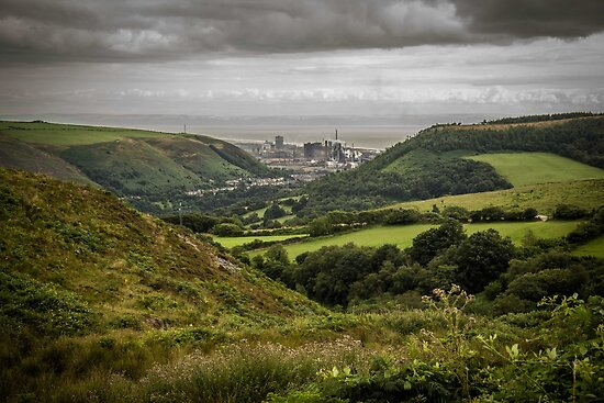 The Afan Valley by digihill