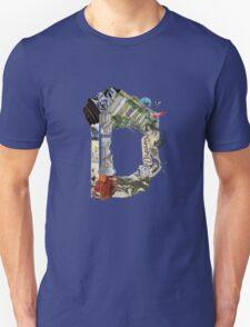 D - Surreal Caligraphy T-Shirt