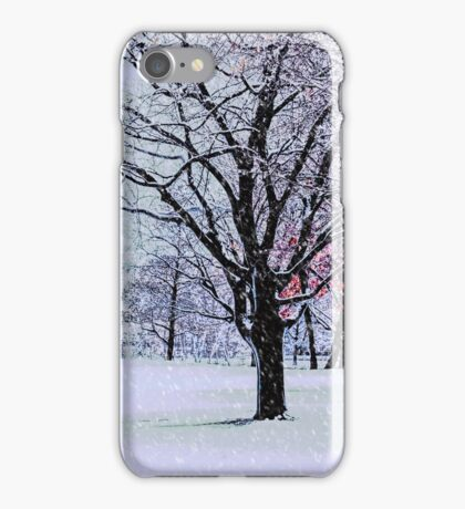 Winter Trees iPhone Case/Skin