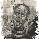Pencil Zombie by Jose Gomez