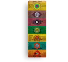 The System of Chakras Canvas Print
