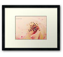 PANTONE - FLOWER #486 Framed Print