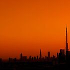 Dubai Skyline by Fern Blacker