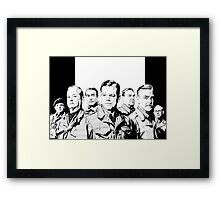 The Monuments Men Framed Print