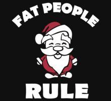 Fat people rule: Santa Claus Baby Tee