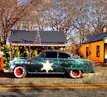 The Sheriffs Car by Wayne King
