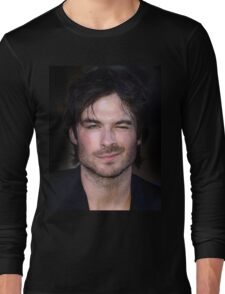 Ian Somerhalder WINK The Vampire Diaries Long Sleeve T-Shirt