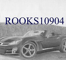 Saturn Sky SPORTS CAR ART PRINT by rooks10904