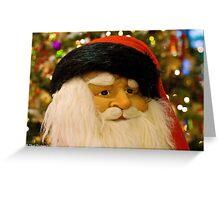 Santa Greeting Card