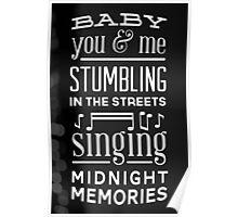 Midnight Memories Poster