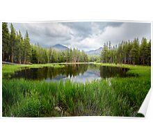 Yosemite Mini Lake 2 - Reflection Poster