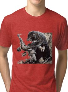 glass and grizzly the revenant movie Tri-blend T-Shirt