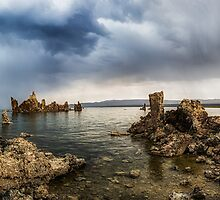 Mono Lake Panorama  by Jerome Obille