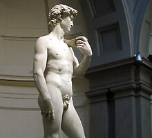 David by Michelangelo by buttonpresser