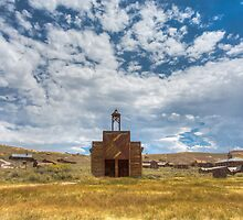 Historic Bodie Ghost Town - Abandoned Firestation by Jerome Obille