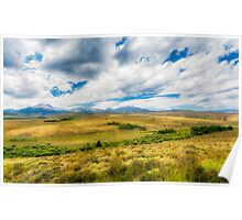 Landscape view from Freeway 395 - California Poster