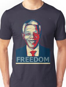 Nelson Mandela tribute freedom Unisex T-Shirt