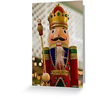 Nutcracker King Greeting Card