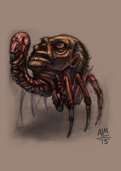 Worst Parasite Ever! (Digital Illustration) by Amata415