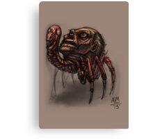 Worst Parasite Ever! (Digital Illustration) Canvas Print