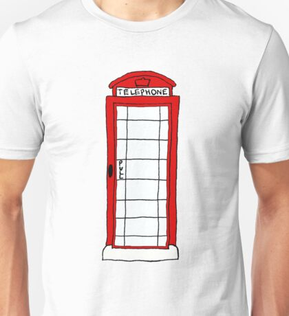 Telephone Booth Unisex T-Shirt