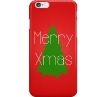 Merry Xmas 2  iPhone Case/Skin