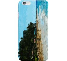 Northwest Maui Beach Abstract Impressionism iPhone Case/Skin