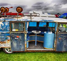 The 'BENCH Jeans' Vw Split Screen custom Van by jay007