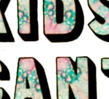 Cool Kids Can't Die Sticker
