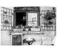 Romantic Coffee Stop Poster