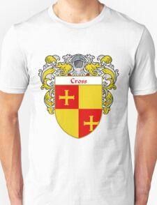 Cross Coat of Arms/Family Crest Unisex T-Shirt