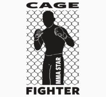 MMA Star - Cage Fighter by AlphaAttire