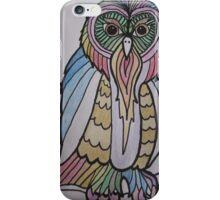 Rainbow Owl iPhone Case/Skin