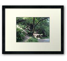 Glendalough, Ireland Framed Print