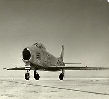 North American YF-86H Sabre by John Schneider