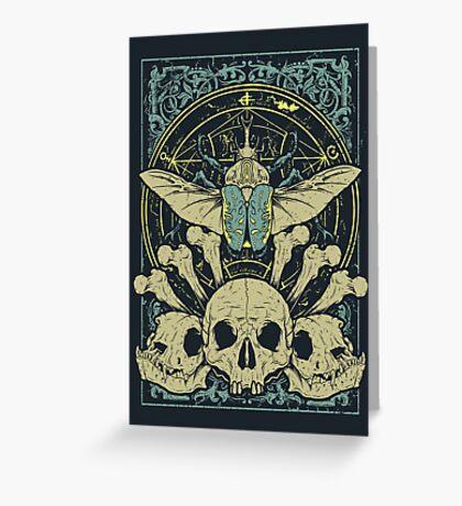 Doom Beetle 2 Greeting Card