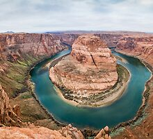 Horseshoe Bend Panorama shot by Jerome Obille