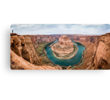 Horseshoe Bend Panorama shot Canvas Print