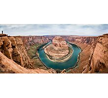 Horseshoe Bend Panorama shot Photographic Print